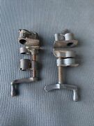 Set Of 2 Vintage Hartford Clamp Co. And 7346 Pipe Clamp Usa Made 🇺🇸