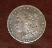 Morgan Silver Us Dollar Rare1889-cc Vf/ef Stored 50+ Years In Private Collection