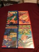 Vintage The Magic School Bus Lot Of 4 Vhs All Factory Sealed New