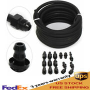 3/8 Fuel Inject Line Fitting Adapter Kit Complete Ls Conversion Efi Fi 25 Feet