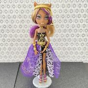 Mattel Monster High - 13 Wishes - Haunt The Casbah Doll Clawdeen Wolf