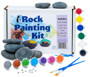 Deluxe Rock Painting Kit For Kids Kindness Rock Painting Supplies Set...