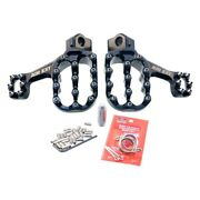 For Honda Crf250f 2019 Fastway Pro 22-ext-001bks Air Ext Standard Angle Footpegs