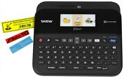 Brother Printer Ptd600 Pc Connectible Label Maker - Black- Brand New