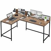 Greenforest 65 X 43 L Shaped Computer Desk Office Gaming Desk With Storage ...