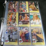 2016 Big Bang Theory Trading Cards Complete Set + Inserts In Album F094