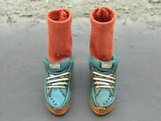 1/6 Scale Toy Mindgame - Blue Sneakers W/red Socks Peg Type