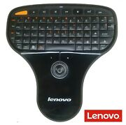 Lenovo N5901 Wireless Keyboard And Trackball New Batteries Included No Dongle
