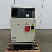 39 X 29x 19 Electrical Enclosure Hinged Door And Back Plate From A Fanuc Robot