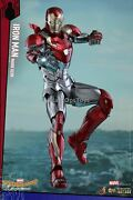 Hot Toys Diecast Spider-man Homecoming Iron Man Mark Xlvii Mint In Box