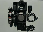 Sony Andalpha7r Iv 61.0mp Mirrorless Digital Camera - Black Body Only Ilce7rm4