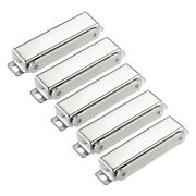 5pcs Door Cabinet Magnetic Catch Magnet Latch Closure Stainless Steel 97mm Long