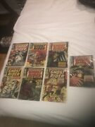The Ghost Rider Lot Entire 7 Book Series 1967 Rare Comic Book Collectible Lot