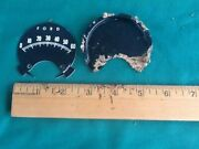 1965 Ford Mustang Parts Rally Pac Tach Face Plate 6000 Tachometer Original 2 Pcs