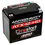Antigravity Batteries Ag-atx-12-hd-rs Re-start Series Lithium Battery