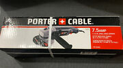 Porter Cable 4-1/2-inch 7.5-amp Corded Angle Grinder W/ Side Handle Pc750ag