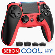 Wireless Ps4 Controller Replace For Playstation 4 Ps4 Slim Pro Controller Red