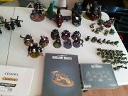 Warhammer 40k Ork Goff Army 4000 Points Read Description For Unpainted Models.