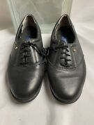 Easy Spirit Leather Anti Gravity Woman Lace Up Oxfords Size 7