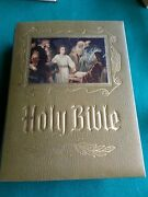 Vintage 1971 Heirloom Family Holy Bible King James Version Red Letter Edition