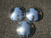 Lot Of 3 Factory 1971 To 1973 Chevy Nova Chevelle Dog Dish Hubcaps