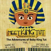 Meet King Tut Biographies For Kids, Brand New, Free Shipping In The Us