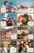 You Canand039t Win And039em All Original 1970 Lobby Card Set Tony Curtis/charles Bronson