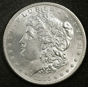 1885-s Morgan Silver Dollar. Natural Uncleaned. Proof-like Bu. 162170