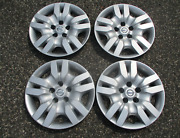 Genuine 2009 To 2012 Nissan Altima 16 Inch Bolt On Hubcaps Wheel Covers