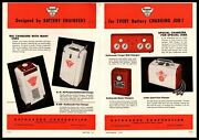 1947 Kathanode Tungar Little Giant Fast Home Battery Chargers 2-page Print Ad