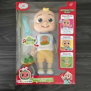 Cocomelon Official Deluxe Interactive Jj Doll With Sounds Free Fast Shipping