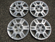 Genuine 2005 To 2006 Nissan Altima 16 Inch Bolt On Hubcaps Wheel Covers
