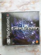 Star Ocean The Second Story Sony Playstation 1 1999