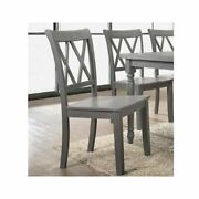 Best Master Furniture Rustic Dining Side Chairs Set Of 2