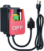 Single Phase On/off Switch Router Table Switch With Large Stop Sign Paddle 110v