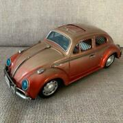 Old Bandai Vw Beetle Tin Toy Make Volkswagen Excellent Atmosphere Made In Japan