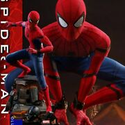 Hot Toy Qs014 14 Scale Spider Man Homecoming Spiderman Statue