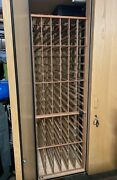 Vinotheque Wine Storage Cabinet With Whiskperkool Holds 38 Cases Of Wine.