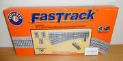 Lionel Fastrack 6-81953 Remote O72 Left Hand Command Switch Track O Gauge Tmcc