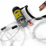 Electric Oil Transfer Extractor Fluid Suction Pump 12v 100w Portable Siphon Tool