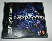 Star Ocean The Second Story Sony Playstation 1 1999 Ps1