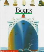 Boats First Discovery Books Jeunesse Gallimard Hardcover Used - Very Good