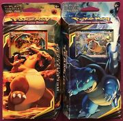 Pokemon Sun Moon Team Up Theme Deck Charizard Relentless Flame Torrential Cannon