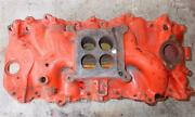 Oem Gm 3866948 Intake Manifold Big Block Chevy 396 427 65-67 Holley Dated D 6 6
