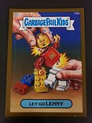 2013 Topps Garbage Pail Kids Gpk Brand New 3 Bns3 Let Go Lenny Gold Lego 149b