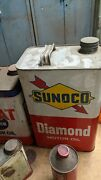 Old Gas Cans Oil Cans Citgo Sunoco And Many Other Name Old Cans