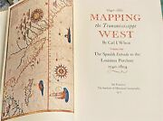 Carl I Wheat / Mapping The Transmississippi West 1540-1861 5 In 6 Volumes