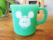 Negotiation Super Illusion Class Ask Vintage Mickey Mouse Fire King Mug/walt