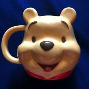 Made By Sanrio Disney Winnie The Pooh Facepottery Mugs
