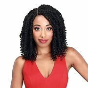 Zury Synthetic Knotless Braid Lace Front Wig - Diva Lace Passion Twist V16